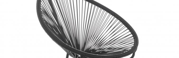 Location fauteuil noir mexico