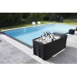 Location table ice bar avec plateau pour verre