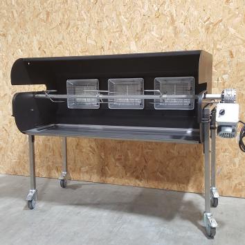 Location mobi-grill (tourne broche + grillade)