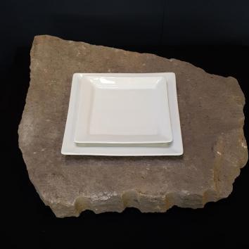 Location assiette quartet 25/25 cm