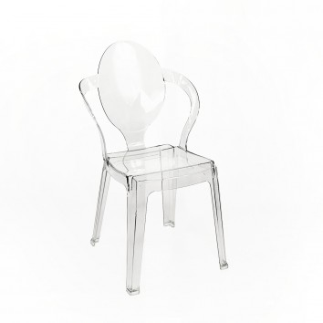 Location chaise spoon polycarbonate