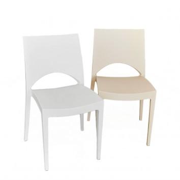 Location chaise june blanche