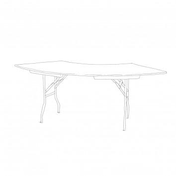 Location table pliante wave 152/76