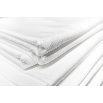 Location nappe coton blanche 150/150