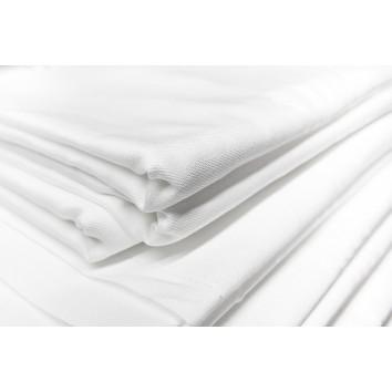 Location nappe coton blanche 150/300