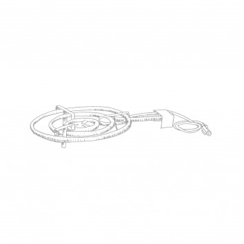 Location serpentin à gaz pour plat à paella