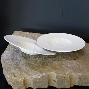 Location assiette roma creuse de présentation