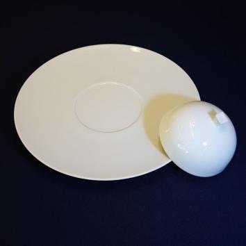 Location assiette pour cloche ø32cm